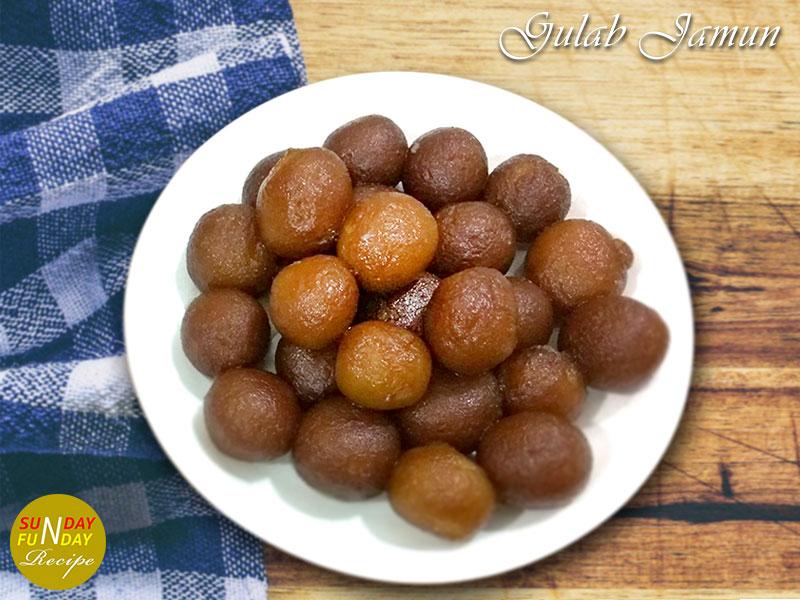 how to make gulab jamun at home