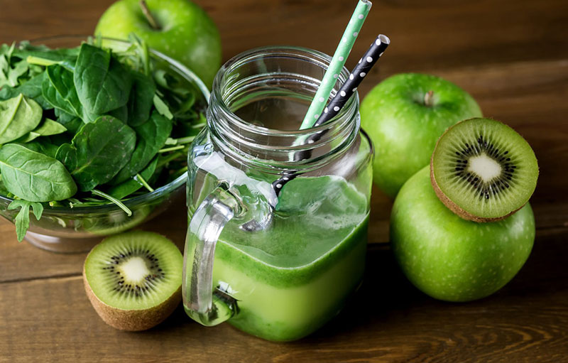 Immunity Booster Juice 1homemade immune booster from kivi-apple