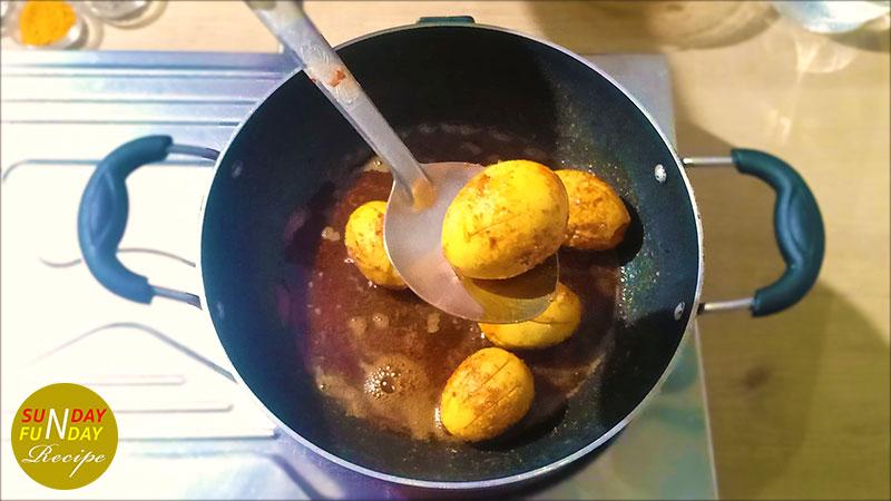 homemade egg curry 12