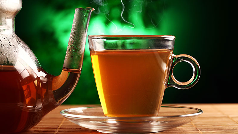 how to use green tea leaves 1