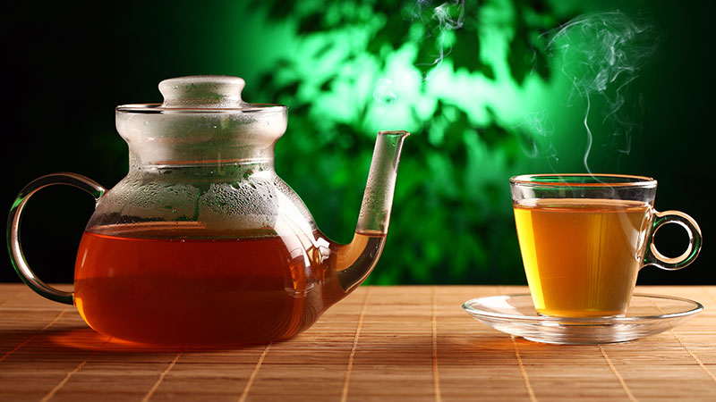 how to use green tea leaves 2