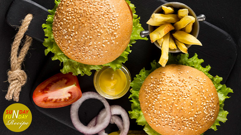 recipe for veggie burger step by step 1