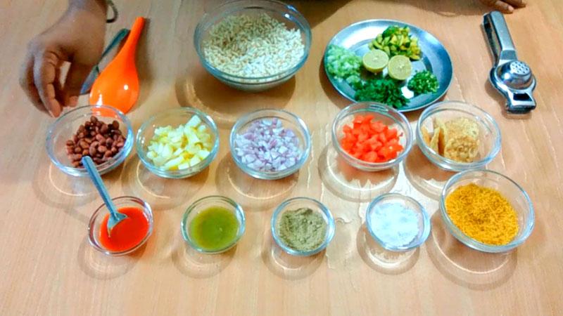 Bhel Puri Ingredients