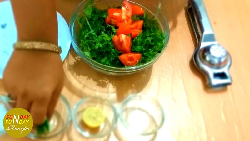 Green Chuteny step 2