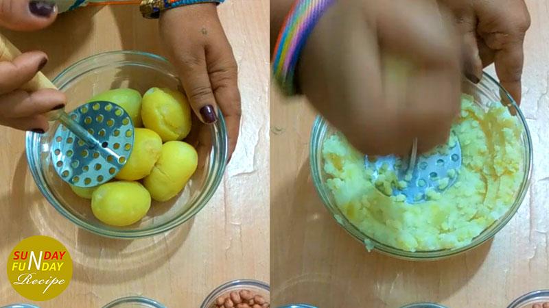 Sabudana Vada step by step 3