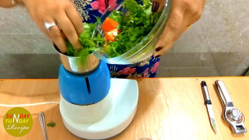 coriander chutney recipe 4