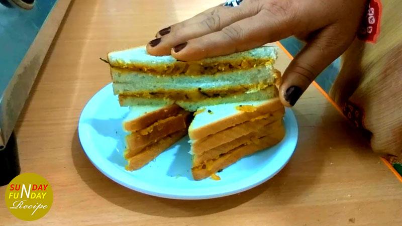 how to make Bread pakora at home 10