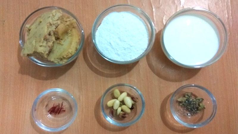 mathura peda ingredients