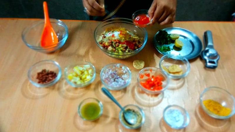 wet bhel puri recipe 4