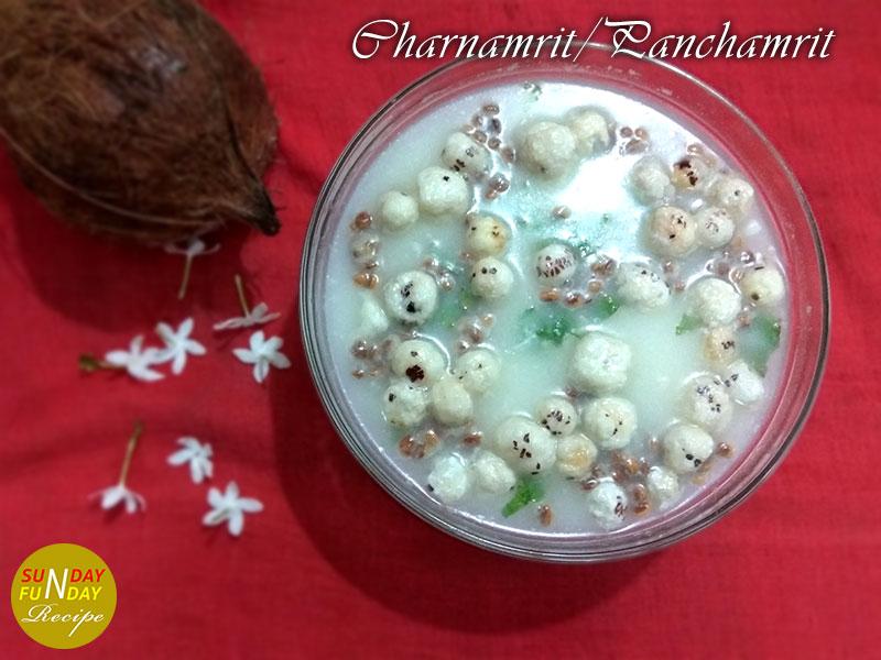 Panchamrut-Charnamrit Recipe | Making No-1 perfect pachamrit