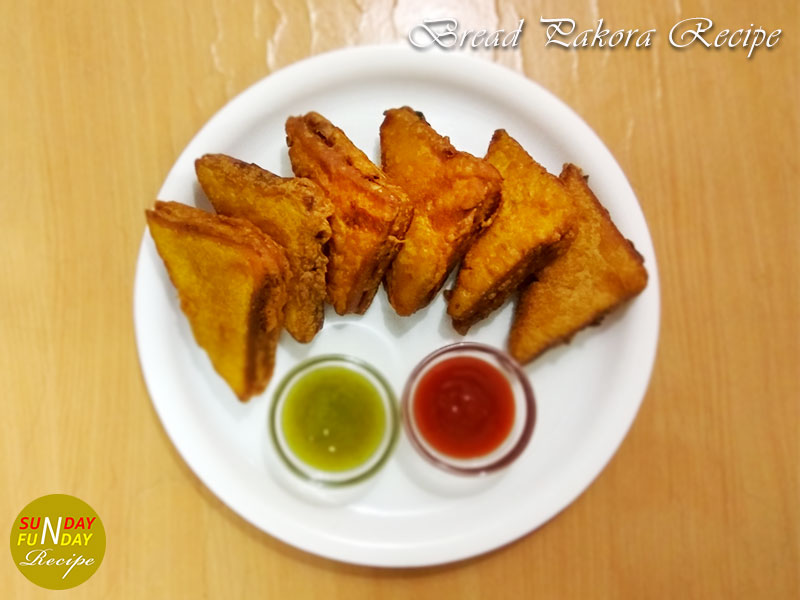 recipe for bread pakora