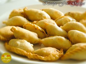 recipe for gujiya